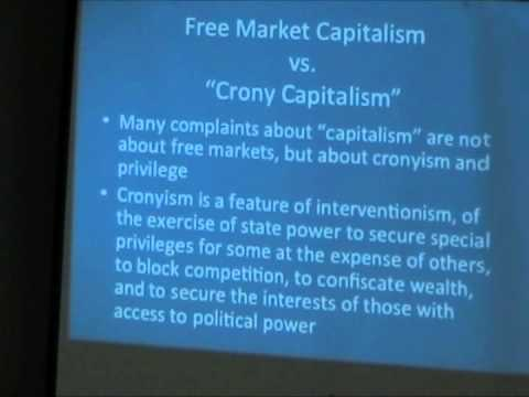Atlas Network's Tom Palmer contrasts cronyism and free-market capitalism