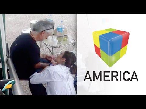 Juanita, ahora a los besos con el ex de Andrea Rincón