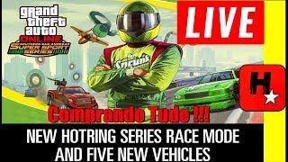 GTA 5 Online Nova DLC SAN ANDREAS SUPER SPORTS SERIES / RACING UPDATE / COMPRANDO TUDO NOVA DLC 1.43
