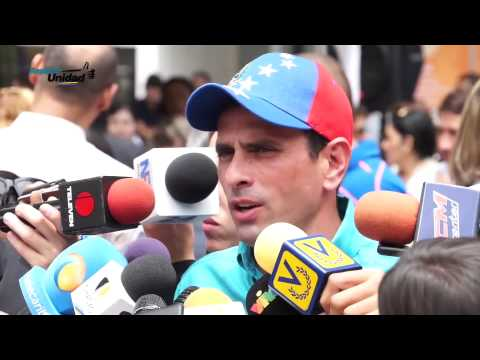 Capriles sobre observación internacional: Unasur necesita el apoyo técnico ya sea de la OEA o UE