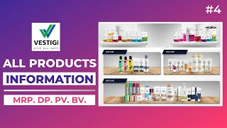 Vestige Products Information With Price List, DP, PV, BV in Hindi (Part 4)