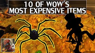 10 of WoW's Most Expensive Items