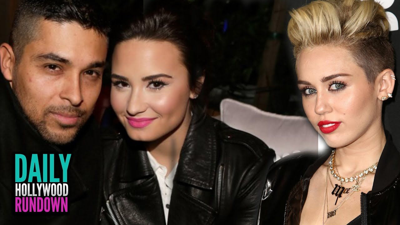 Demi Lovato Defends Bf Wilmer Miley Cyrus New Beatles Song Sneak Peak Dhr Youtube