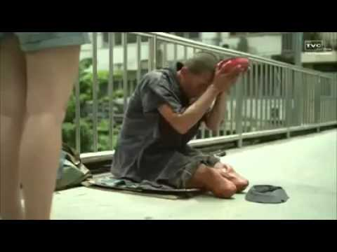Thailand Scam pretending to be a Disabled and Beggar