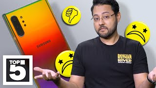 How the Galaxy Note 10 let us down