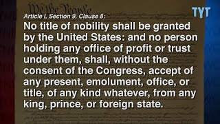 Trump Impeachment Charges Explained: Foreign Payments Illegal (1 of 2)