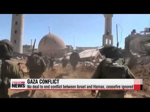 Fighting continues in Gaza, despite ceasefire calls