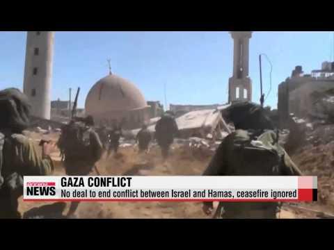 Fighting continues in Gaza, despite ceasefire calls