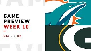 Miami Dolphins vs. Green Bay Packers | Week 10 Game Preview | NFL Playbook