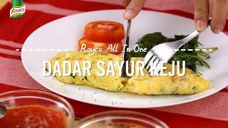 Resep Royco - Dadar Sayur keju