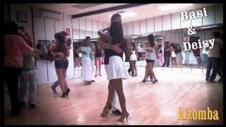 CLASE DE KIZOMBA Nivel básico medio  www.bailesurmadrid.com