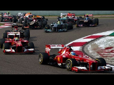 F1 2013 Chinese Grand Prix Race Preview