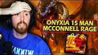 Asmongold First 15 MAN ONYXIA Raid & McConnell Gets EXTREMELY MAD About Loot - Classic WoW