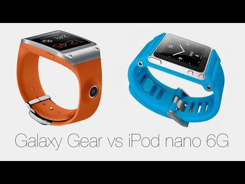 Galaxy Gear vs iPod nano 6G - какие
