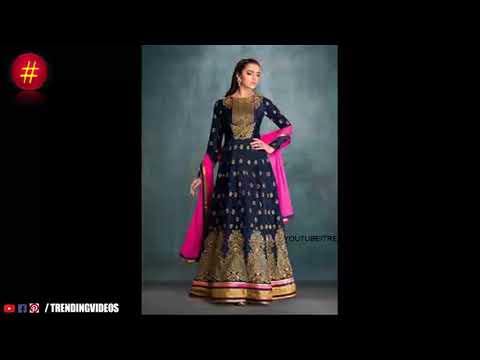 Latest Designer SalwarsParty Wear Anarkali Salwar Designs - She Fashion