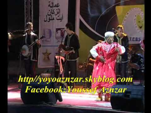 Hamid Inerzaf au festival Tayought