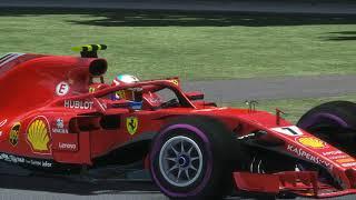 rFactor 2 ACFL F1 2018 : Ferrari My paint helmet