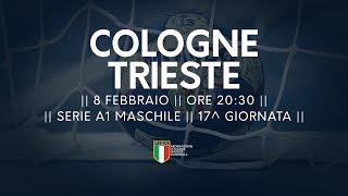 Serie A1M [17^]: Cologne - Trieste 26-26