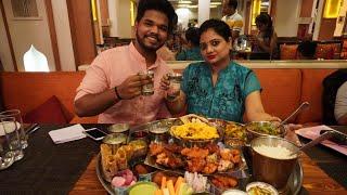 Biggest Thali | DELHI FOOD | Thali In Delhi | Modi Ji 56-Inch Thali | Indian Street Food |