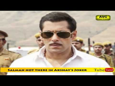 Salman not there in Akshay's Joker