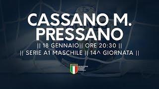 Serie A1M [14^]: Cassano Magnago - Pressano 25-21