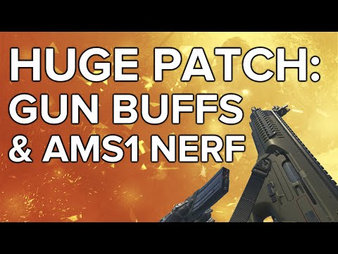 Advanced Warfare In Depth: Huge Patch! Gun Buffs & ASM1 Nerf (ARX160, MK14, AMR9)