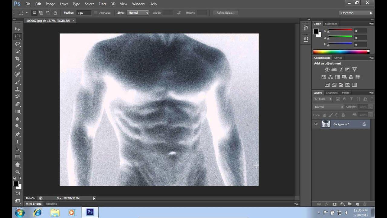 Как с негативов сделать фото на компьютере