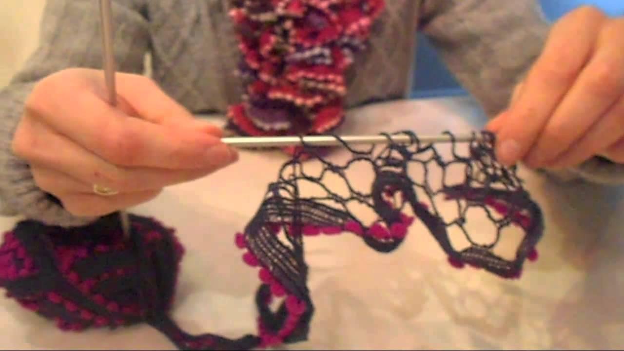 comment tricoter la laine fantaisie