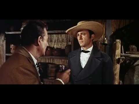John Wayne in The Alamo