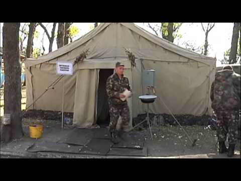 Dnipropetrovsk Soldier Care: Field hospital cares for wounded Ukrainian soldiers
