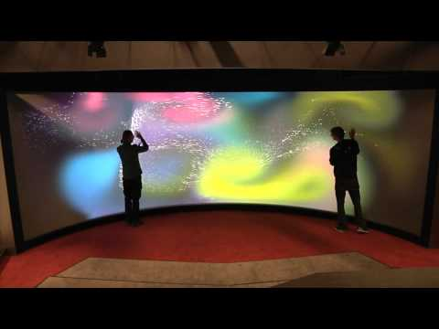 Reality touchscreen University of Groningen
