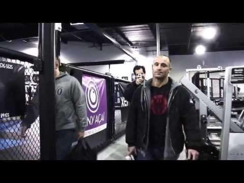 Matt Serra Training for UFC 109 Wand Fight Team Wanderlei Silva Jaco Fight Shorts UFC 110 Video Blog Image 1
