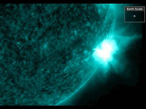 Solar Flare, Radiation Storm at Earth | S0 News Jan.2.2016