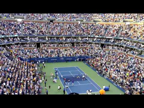 Match point us open  women's singles championship