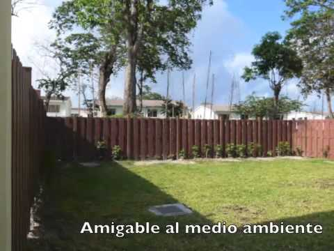 Cercas perimetrales green solutions youtube for Barda de madera para jardin