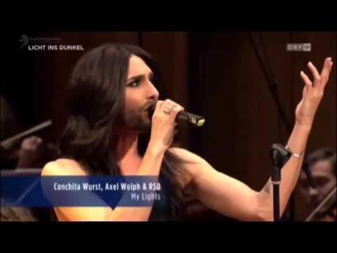 Conchita Wurst - Heroes / My Lights (Licht ins Dunkel)