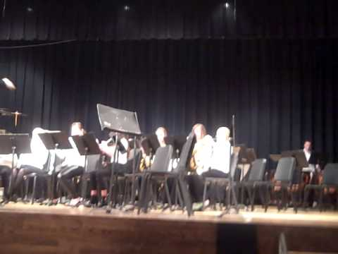 6th Grade Band Rock Valley Community Schools Rock Valley, Iowa - 03/07/2014