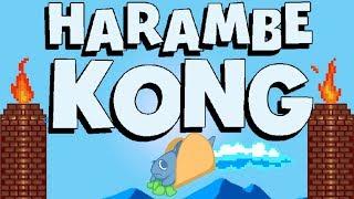 HARAMBE KONG [New Funny Harambe Game]