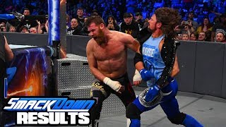 WWE FASTLANE MAIN EVENT SET! Smackdown Review & Results 2/6/18 (Going In Raw Podcast)