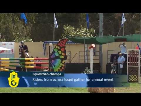 Show Jumping Championship in Ramat Gan: Horseback Riding Sport Gains Popularity in Israel