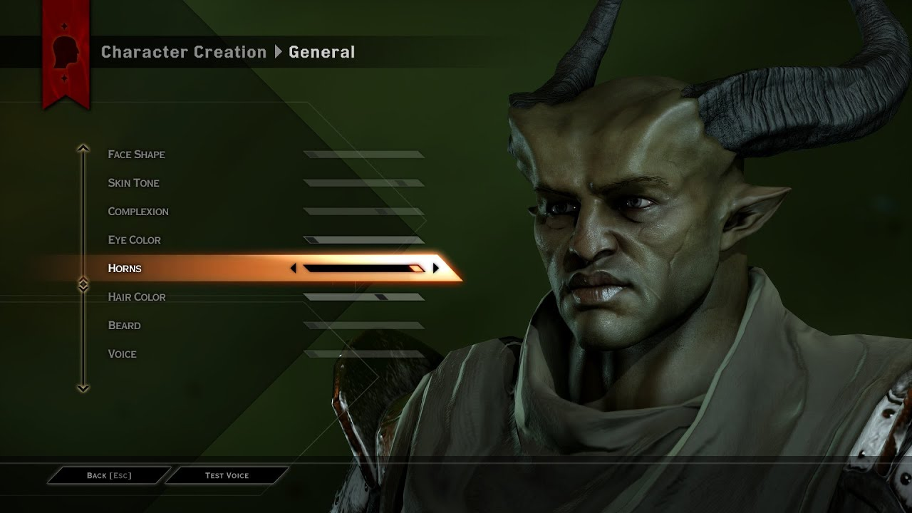 Dragon Age Inquisition Created Characters Dragon Age 3 Inquisition