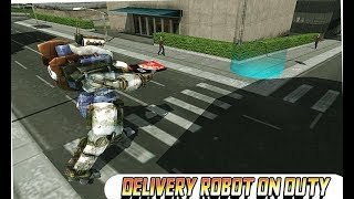 Delivery Robot: Car Transform (By Ryan Games) Android Gameplay HD