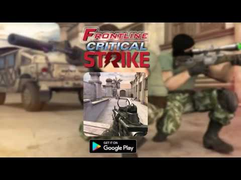 Frontline Critical Strike: New FPS Shoot War APK Cover