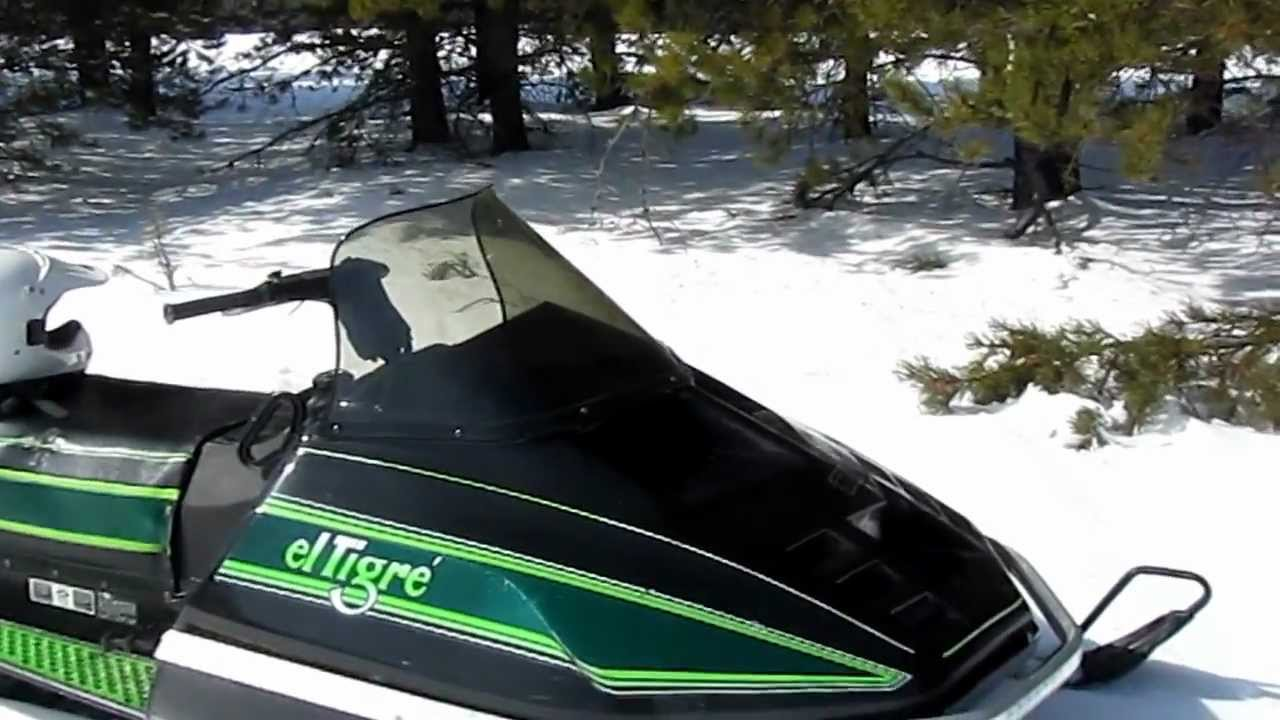 Arctic Cat El Tigre 6000  500 Cc Liquid Cooled