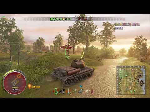World of Tanks Xbox one T-34-88 6 Kills