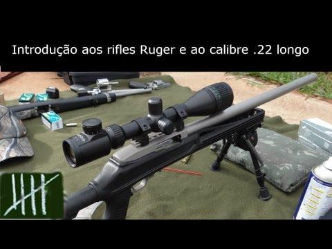 Introdução aos rifles Ruger e ao calibre .22LR