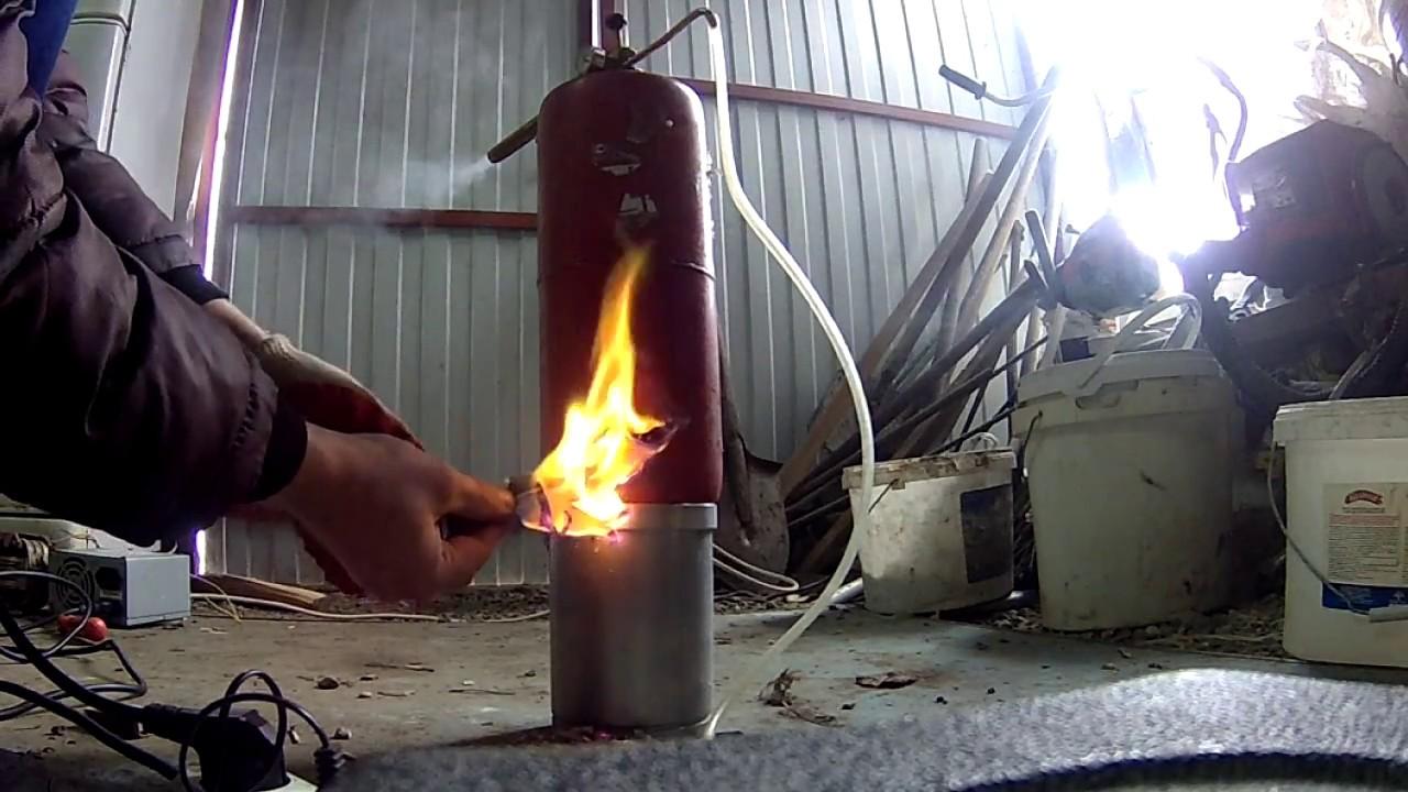 Коптильня холодного копчения своими руками из огнетушителя