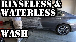 Car Care Tips Part 1.5: Rinseless & Waterless Wash - ONR vs. FROTHe