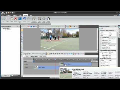 VSDC Free Video Editor - cz/part 4. Przycinanie i dzielenie filmu. Cutting & Splitting.
