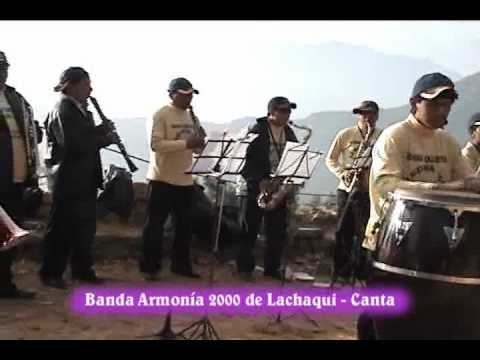 Banda Armonía 2000 de Lachaqui - Canta en Pampacocha